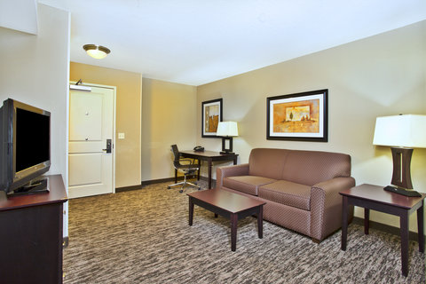 Holiday Inn Hotel & Suites GREEN BAY STADIUM - King Suite living area