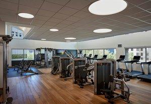 Fitness/ Exercise Room - Marriott City Center Hotel Charlotte