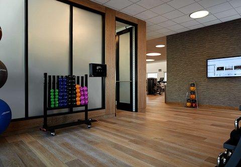 Marriott Charlotte City Center Hotel - Fitness Center - Stretching Area