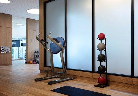 Marriott Charlotte City Center Hotel - Fitness Center - Core Station