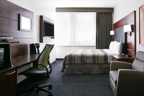 Club Quarters in Boston - Guest Room