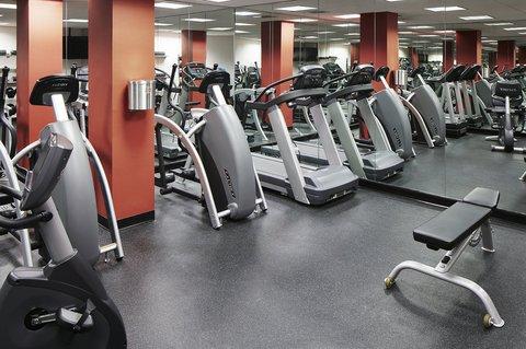 Club Quarters in Boston - Fitness Center