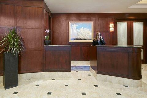 Club Quarters in Boston - Reception Desk