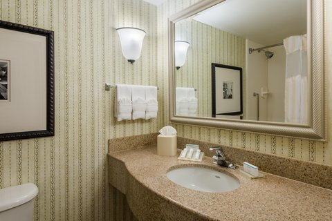 希爾頓黑得希爾頓花園酒店 - Guest Bathroom