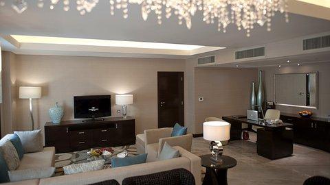 فندق كراون بلازا ديرة دبي - Presidential Suite - Livingroom