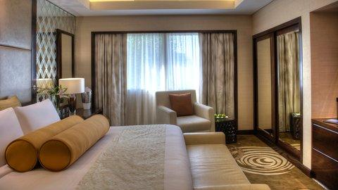 فندق كراون بلازا ديرة دبي - Presidential Suite Bedroom