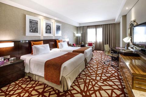 فندق كراون بلازا ديرة دبي - Elegantly Furnished Deluxe Twin Beds