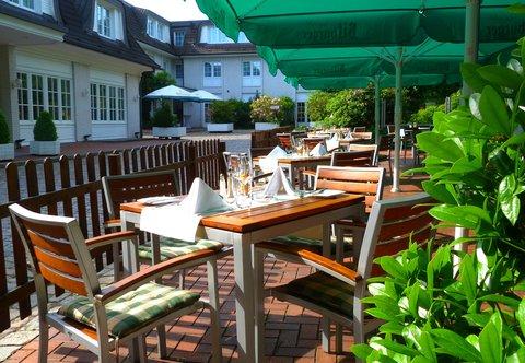 漢堡機場萬豪庭院酒店 - Courtyard Garden - Terrace
