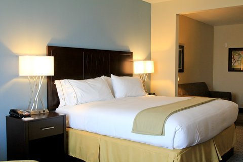 Holiday Inn Express & Suites FLORESVILLE - King Bed Guest Room