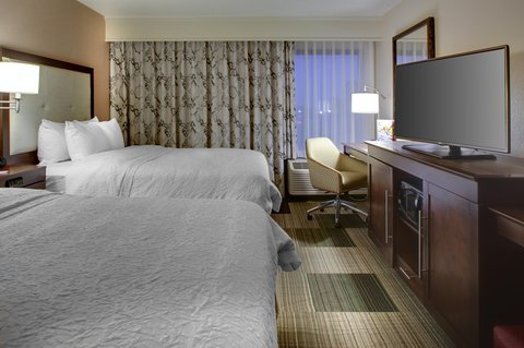 Hampton Inn Greenville-Woodruff Road - Room with Two Queen Beds