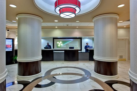 'Holiday Inn Los Angeles International Airport Hotel' - Reception