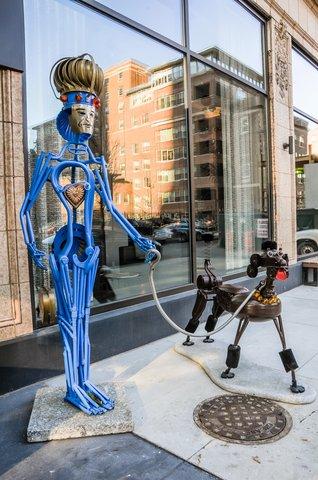 Hotel Felix Chicago - Hotel Felix Sustainable Sculptures