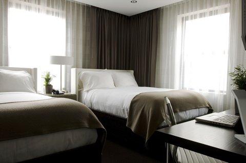 Hotel Felix Chicago - Hotel Felix Double Bed Room Interior