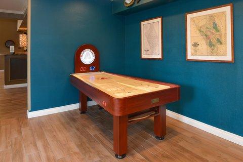 Hilton Garden Inn Napa - Shuffleboard in our Game Room
