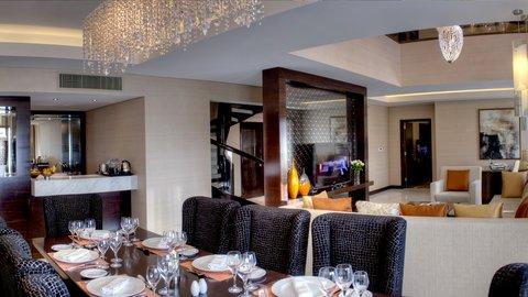 فندق كراون بلازا ديرة دبي - Royal Suite Dining
