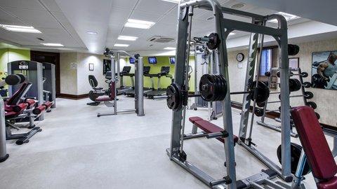 فندق كراون بلازا ديرة دبي - On-site Fitness Center