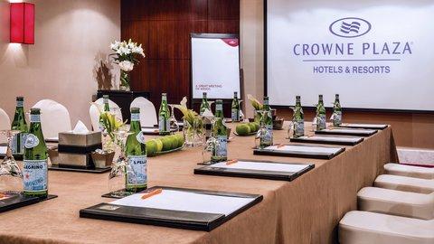 فندق كراون بلازا ديرة دبي - Meeting Room Setup