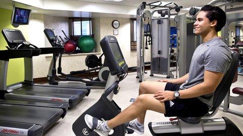فندق كراون بلازا ديرة دبي - On-site Fitness Center  Gym