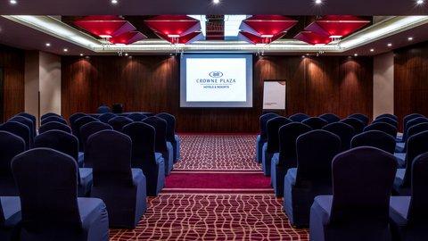 فندق كراون بلازا ديرة دبي - Meeting Room Theatre Setup
