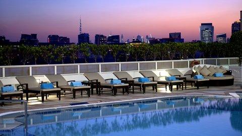 فندق كراون بلازا ديرة دبي - View from Outdoor Swimming Pool