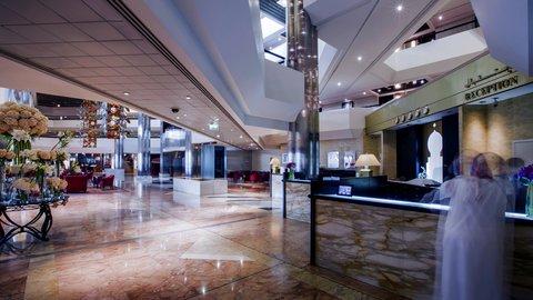 فندق كراون بلازا ديرة دبي - Lobby Reception
