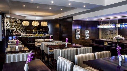 فندق كراون بلازا ديرة دبي - Club Lounge - Dining