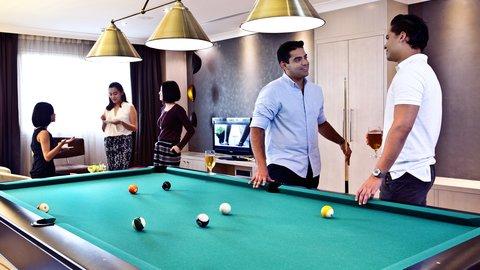 فندق كراون بلازا ديرة دبي - Crew Lounge Recreational area