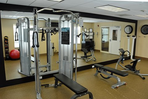 Homewood Suites by Hilton Albany Hotel - Fitness Center