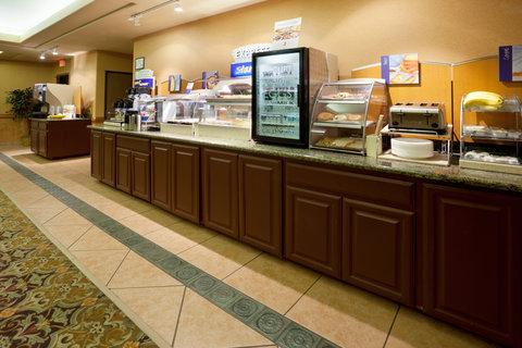 Holiday Inn Express & Suites ALICE - Breakfast Bar