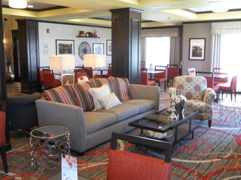 Holiday Inn Express & Suites GREENSBURG - Relax in our comfortable Great Room