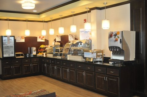 Holiday Inn Express & Suites GREENSBURG - Everything you need to start your day right