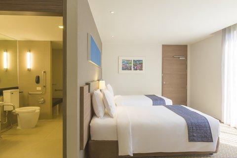 Holiday Inn Express Bangkok Sathorn - 2 Single Beds Wheelchair Accessible Room