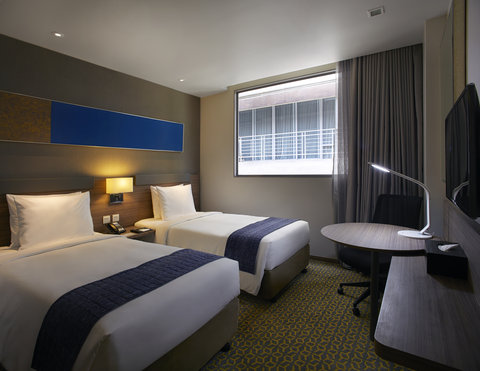 Holiday Inn Express Bangkok Sathorn - 2 Single Beds room - Holiday Inn Express Bangkok Sathorn