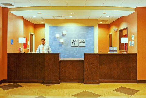 Holiday Inn Express & Suites GREENSBURG - Front Desk