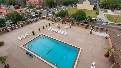 Holiday Inn GAINESVILLE-UNIVERSITY CTR - Rooftop Pool
