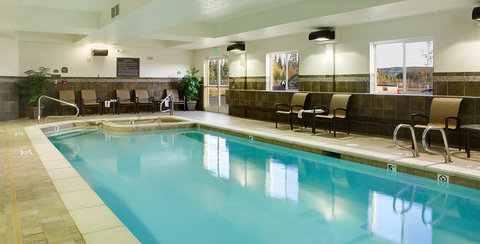 Holiday Inn Express & Suites FAIRBANKS - Relax in our indoor heated pool  amp  spa