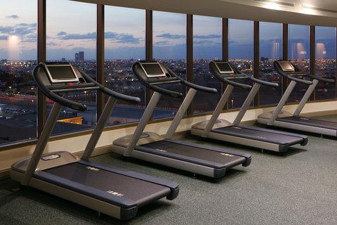 هوليداي إن بوابة جدة - Fitness Center