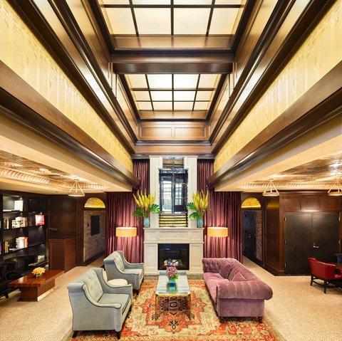 The Jade Hotel Greenwich Village - Walker Hotel Greenwich Village Lobby