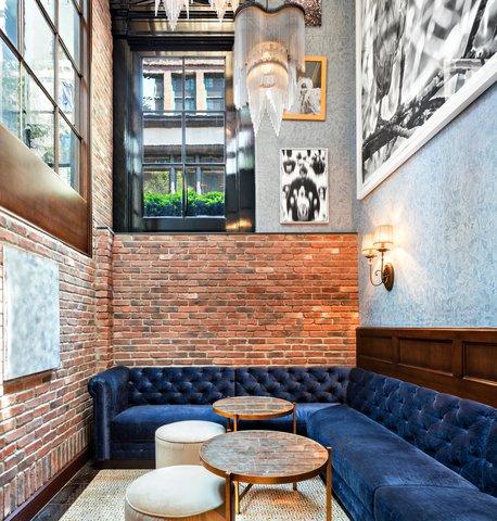 The Jade Hotel Greenwich Village - Walker Hotel Greenwich Village Lobby Alcove