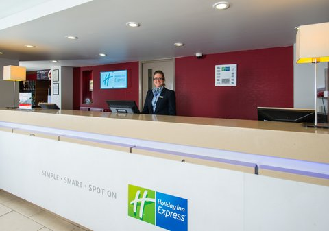 Holiday Inn Express EXETER M5, JCT. 29 - Our friendly team are here to help around the clock