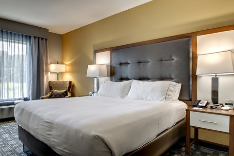 Holiday Inn Express & Suites ALBANY - King Bed Guest Room