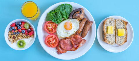 Sunrise Motor Inn - Breakfast Cropped