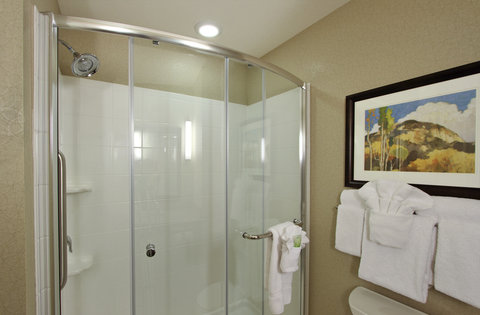 Holiday Inn Express & Suites COLORADO SPRINGS-FIRST & MAIN - Invigorating Shower in our Beautiful Colorado Springs Hotel Suites