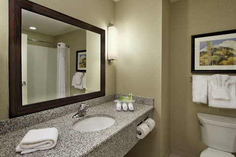 Holiday Inn Express & Suites COLORADO SPRINGS-FIRST & MAIN - Luxurious Bathroom at our Beautiful Colorado Springs Hotel