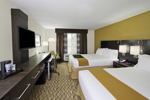 Holiday Inn Express & Suites COLORADO SPRINGS-FIRST & MAIN - Spacious Double Queen Rooms at our Colorado Springs Hotel