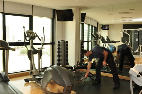 Holiday Inn ABU DHABI - Stay fit at UPbeat  our mini gym