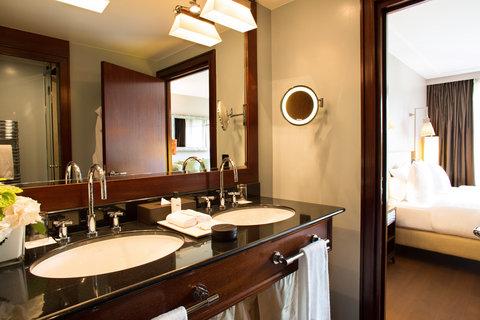 日内瓦香格里拉酒店及温泉 - Deluxe Room - Bathroom