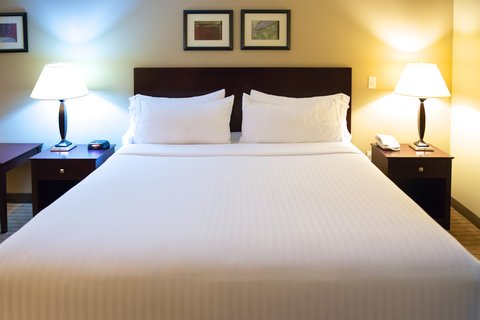 Holiday Inn Express DEVILS LAKE - King Guest Room