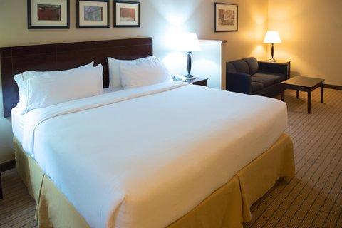 Holiday Inn Express DEVILS LAKE - King Suite