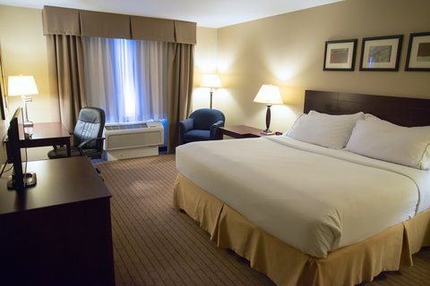 Holiday Inn Express DEVILS LAKE - King Bed Guest Room
